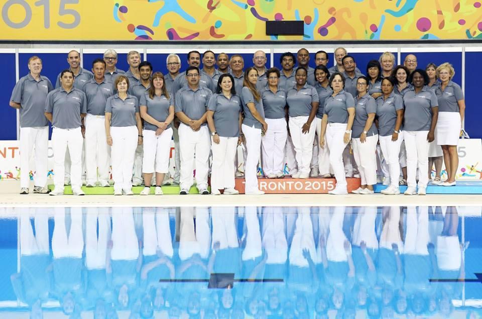 Equipe de arbitragem dos Jogos Pan-Americanos 2015