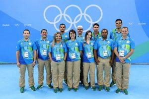 Árbitros brasileiros que participaram dos Jogos Olímpicos Rio 2016